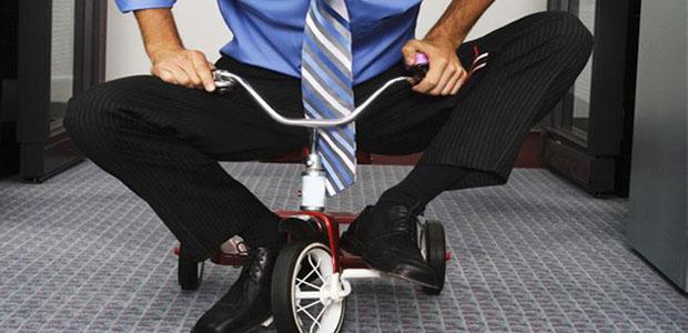 le tricycle c'est aussi pour les adultes